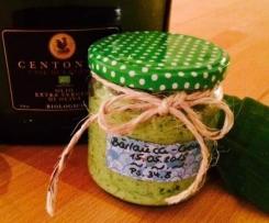 Bärlauch-Creme (zum Genießen, Mitbringen, Verschenken)