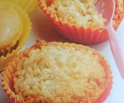 saftige Apple Crumble Muffins - Apfelmuffins mit Streuseln
