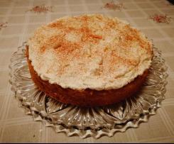 Apfelkuchen mit Zimt-Sahnehaube