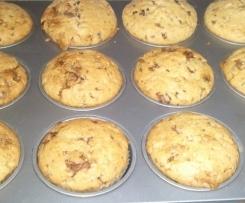 Karamell-Muffins mit Toffifee