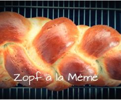 Zopf à la Mémé