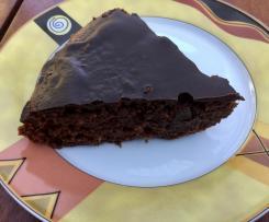 Schokoladenkuchen mit Zuchini
