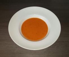 Pikante Tomatensuppe (sehr einfach)