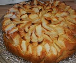 Saftiger Apfelkuchen , einfach und lecker