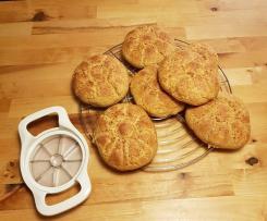 Möhren-Dinkel-Brötchen