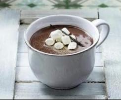 Heiße Schokolade - extra schokoladig & schaumig