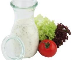 Joghurtdressing haltbar