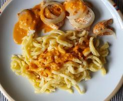 Zwiebelhähnchen mit Spätzle (All in one)