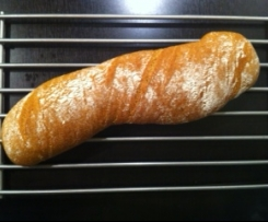 Vollkorn-Wurzel-Baguette