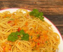 Kürbispesto (Soße) mit Sesam