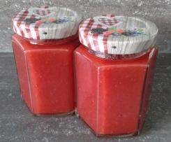 Köstliche Erdbeer-Bananen-Marmelade