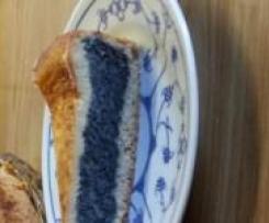 Mohn-Vanille-Kuchen