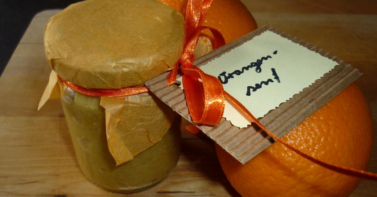 Orangensenf Von Okidoki76 Ein Thermomix Rezept Aus Der Kategorie