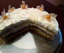 Sahne Zwetschgen Torte