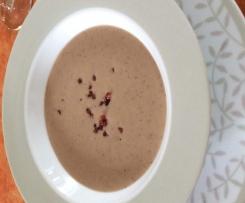 Maronensuppe mit Speck (Esskastanien)