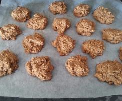 Hafreflocken-Amaranth-Möhren-Cookies
