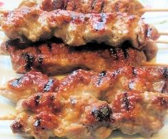 Thai Schweinefleisch Spießchen Marinade