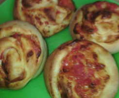 Pizza Schnecken