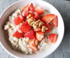 Protein - Porridge : Fitness Bircher Müsli