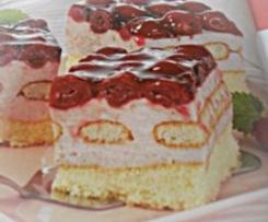 Leichte Kirsch-Tiramisu-Torte