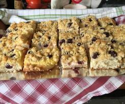 Kirsch-Pudding-Streuselkuchen