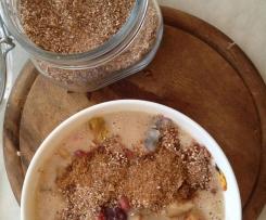 Granola Pulver nach Jamie Oliver abgewandelt - vegan - veggie - ohne Zuckerzusatz - natürlich