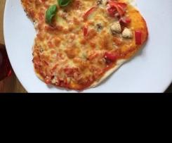 Pizza - Grundrezept für den Teig