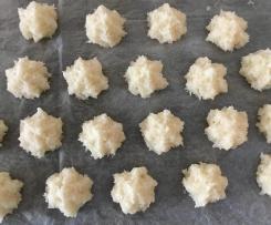 Kokosmakrönli mit Keckspresse