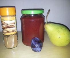 Zwetschgen-Birnen-Zimt Marmelade
