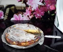 Rhabarberrahmkuchen