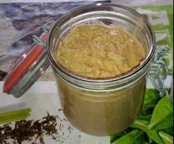 Tomaten-Rucola-Kresse-Aufstrich auf Sonnenblumenkernbasis (vegan)