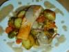 ww Gemüse mit Sabayon