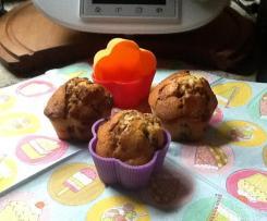 Muffins mit Kokosmehl