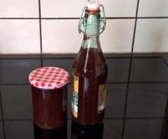 Tomaten-Ketchup mit Kirschen