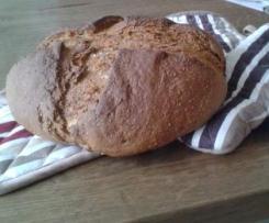 Variation von Buttermilch-Sesam-Brot