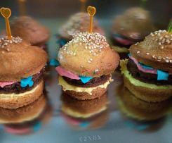 Burger-Muffins: perfekt für den Kindergeburtstag!