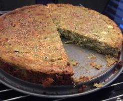 Zuccini Schafskäse Kuchen