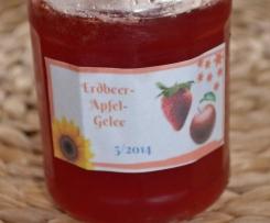 Erdbeer- Apfelgelee