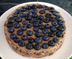 Rohkost-Kuchen, Raw Cake, vegan und gesund