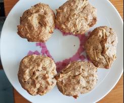 Saftiger Kuchen/ Saftige Muffins, vegan und zuckerfrei