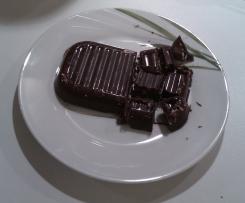 Selbstgemachte Schokolade