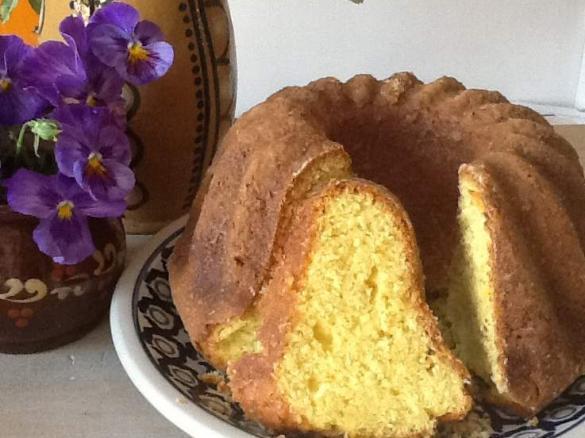 Saftiger Orangen Kokos Kuchen Von Parinette Ein Thermomix Rezept