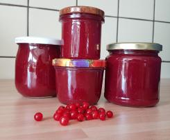 Johannisbeer-Apfel-Marmelade