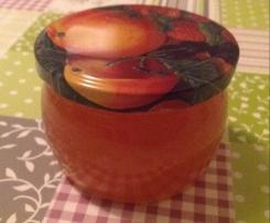 Quittengelee mit Apfelsaft