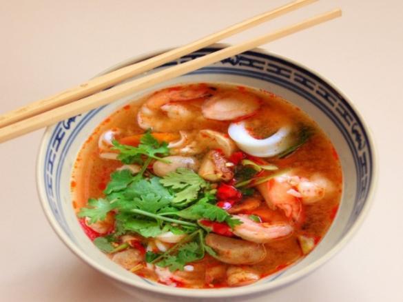 thai tom yum suppe mit garnelen von hottombbq ein thermomix rezept aus der kategorie suppen. Black Bedroom Furniture Sets. Home Design Ideas