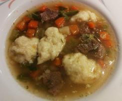 Schwemmklößchen - Suppeneinlage