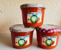 Wassermelone Mini Orangen Marmelade