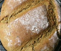 """Grünes Brot"" (Kürbiskernbrot)"