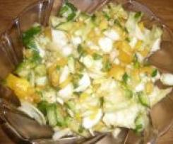 Krautsalat mit Mango