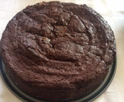 Brownies, vegan und saftig, für 20cm Springform